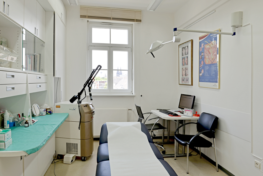 Laser Therapie hautaerzte-deutz.de