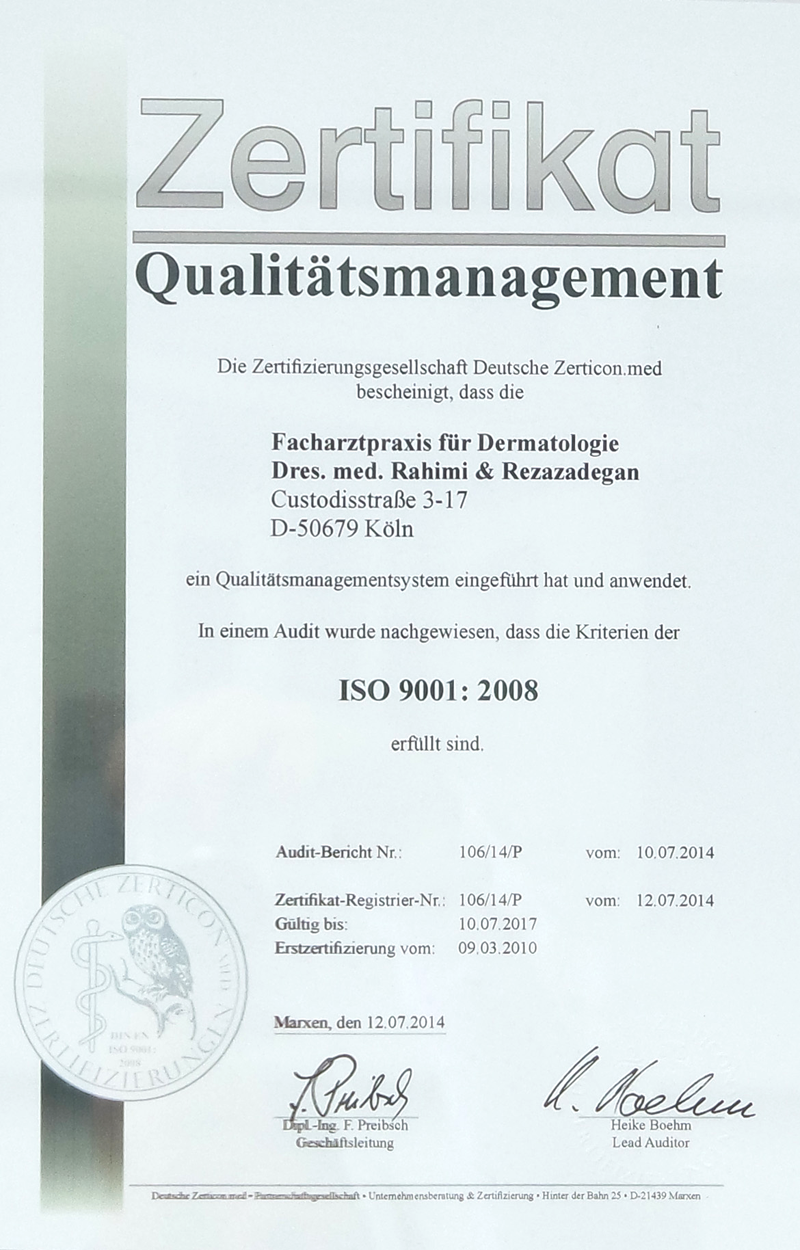 Quallitätsmanagement
